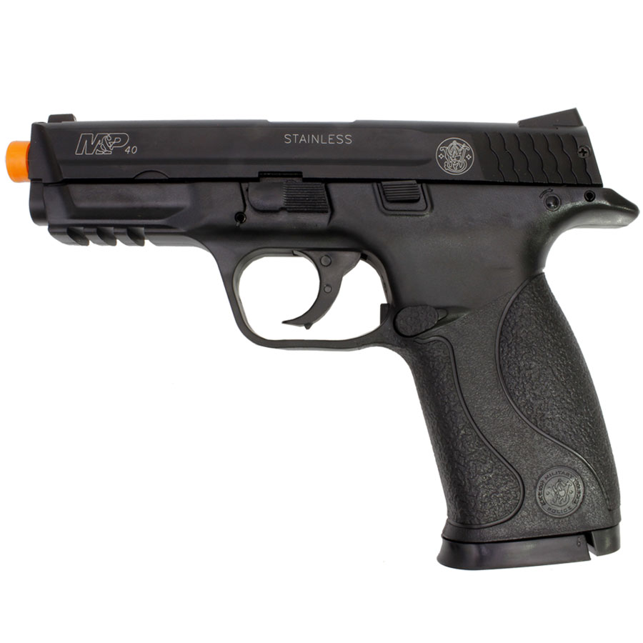 PISTOLA AIRSOFT S&W M&P40 SLIDE METAL - Cal 6mm