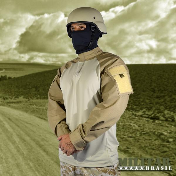 Combat Shirt Caqui ( Militar Brasil )