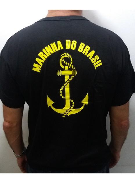 Camisa Marinha do Brasil  Preta