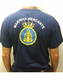 Camisa Marinha Mercante  Azul