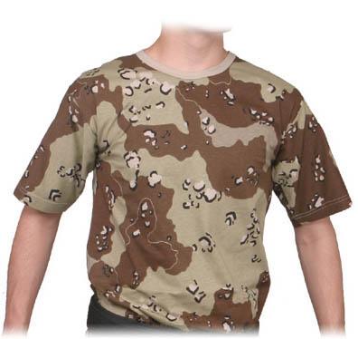 Camisa Camuflada Desert Storm