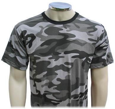 Camisa Camuflada Urbano