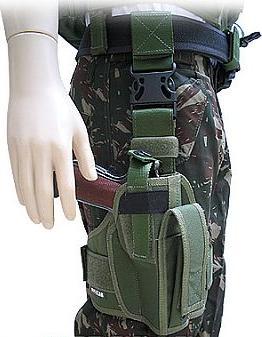 Coldre Robocop Cal 45 40 9mm T-2 Verde
