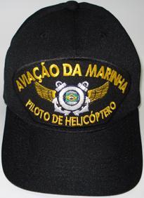 Boné Aviação da Marinha Piloto de Helicóptero