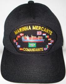 Boné Marinha Mercante Comandante