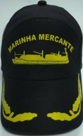 Boné Marinha Mercante Silk