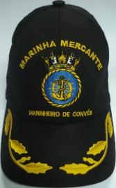 Boné Marinheiro de Convés Bordado