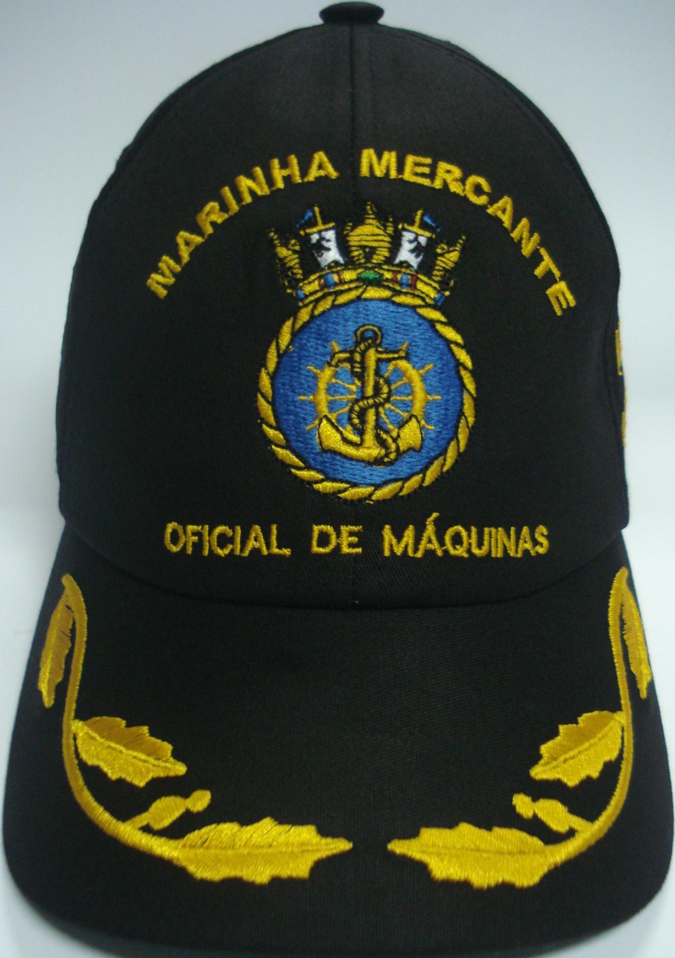 Boné Oficial de Máquinas Bordado