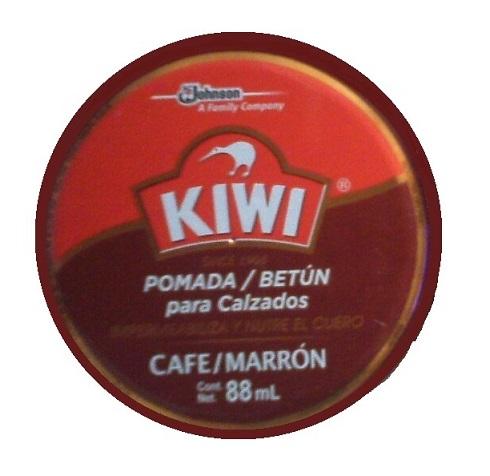 Graxa Kiwi Marrom