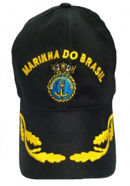 Boné Marinha do Brasil Bordado Brasão
