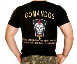 Camisa Comandos Bordada