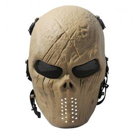 Mascara Caveira Tan Full Visão Telada