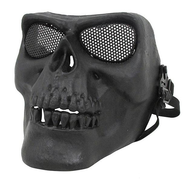 Máscara Caveira Preta