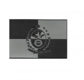 Bandeira Rio de Janeiro Emborrachada Negativa