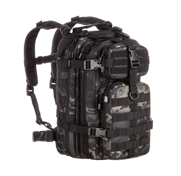 MOCHILA Assault - Camuflado Multican Black